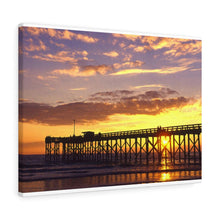 Load image into Gallery viewer, Mexico Beach Pier Canvas - Sunset