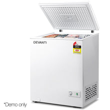 Load image into Gallery viewer, Devanti 145L Chest Freezer - White