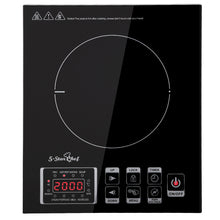 Load image into Gallery viewer, 5 Star Chef Ceramic Electric Induction Cook Top Stove - Black
