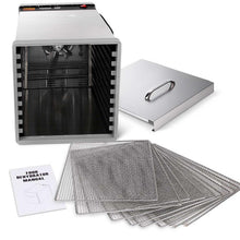 Load image into Gallery viewer, 5 Star Chef Stainless Steel Food Dehydrator with 10 Trays