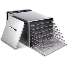 Load image into Gallery viewer, 5 Star Chef Stainless Steel Food Dehydrator with 8 Trays