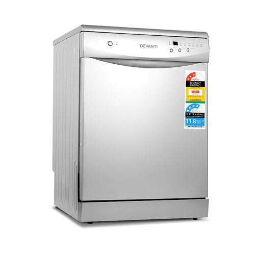 Devanti 60cm Freestanding Dishwasher - 12 Place Setting