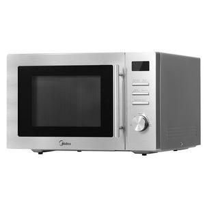 Midea 34L 2100W Electric Convetion Microwave Oven Kitchen Bench Silver
