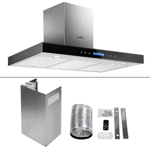 5 Star Chef Stainless Steel Kitchen Rangehood - Inox