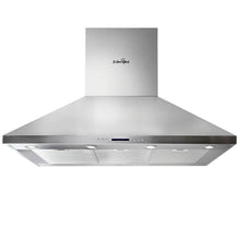 Load image into Gallery viewer, 5 Star Chef 1200mm Commercial BBQ Rangehood - Silver