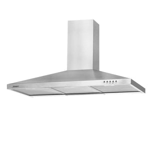 DEVANTi 900mm Rangehood Stainless Steel Range Hood Home Kitchen Canopy
