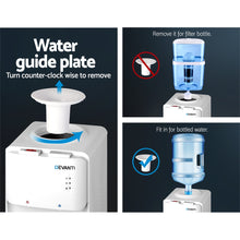 Load image into Gallery viewer, Devanti 22L Water Cooler Dispenser Top Loading Hot Cold Taps Filter Purifier Bottle