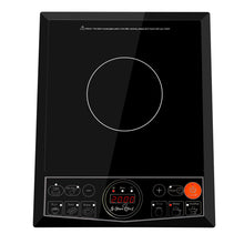 Load image into Gallery viewer, 5 Star Chef Portable Single Ceramic Electric Induction Cook Top - Black