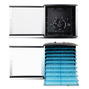 Devanti Commercial Food Dehydrator with 10 Trays