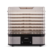 Load image into Gallery viewer, Devanti Food Dehydrator with 7 Trays - Silver