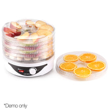 Load image into Gallery viewer, Devanti Food Dehydrator with 7 Trays - White