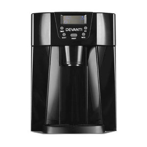 Devanti 2L Portable Ice Cuber Maker & Water Dispenser - Black