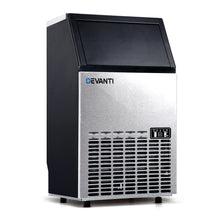 Load image into Gallery viewer, Devanti Stainless Steel Commercial Ice Cube Maker
