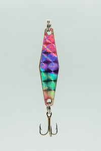Rainbow Silver - Curly's Fishing Lures