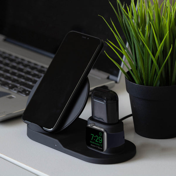 SupremeCharge™ 3-in-1 Charging Station