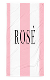 Rosé Beach Towel - Bubbly & Co.
