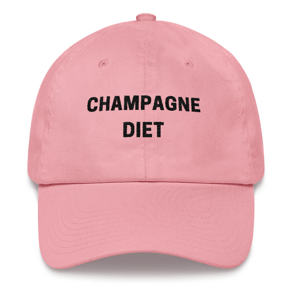 Champagne Diet Cotton Cap Dad hat - Bubbly & Co.