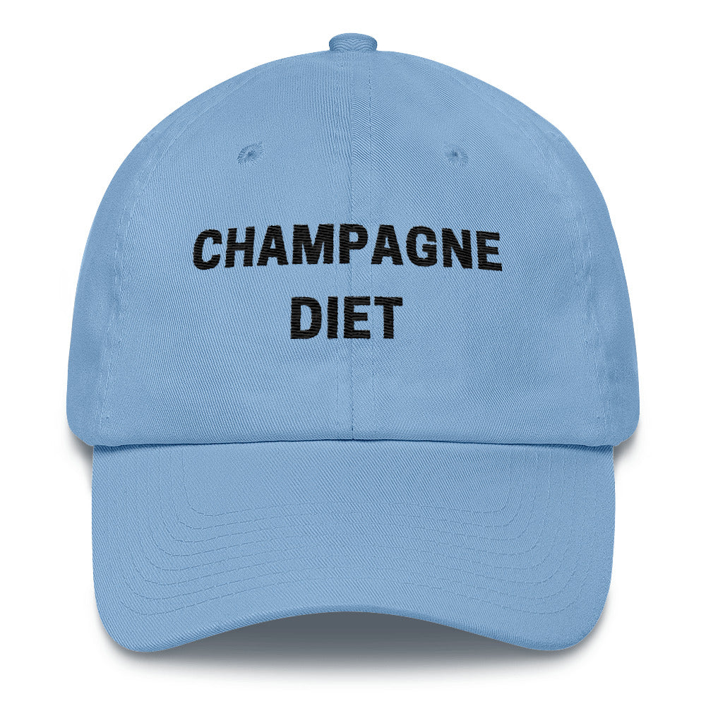 Champagne Diet Cotton Cap - Bubbly & Co.