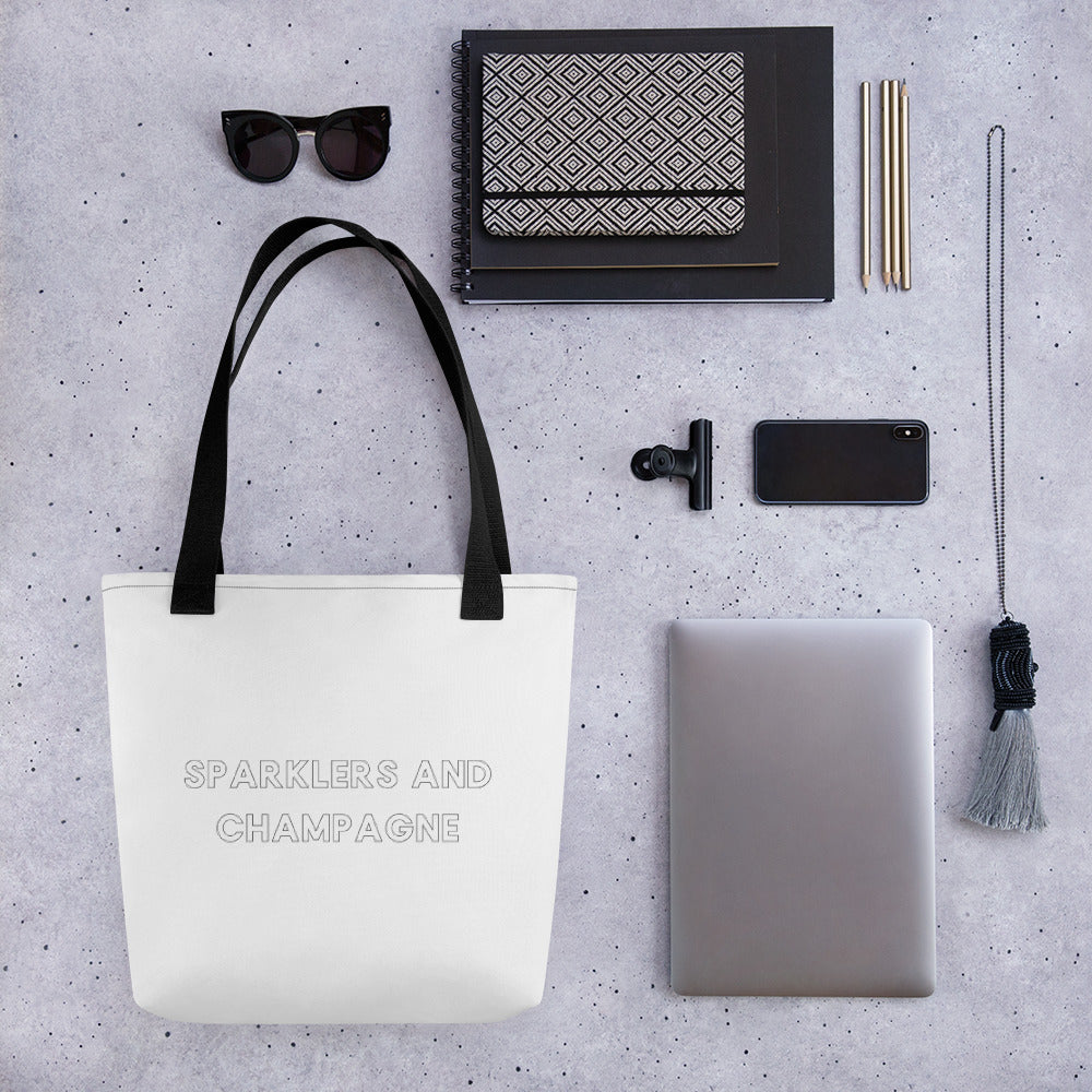 Sparklers & Champagne Tote bag