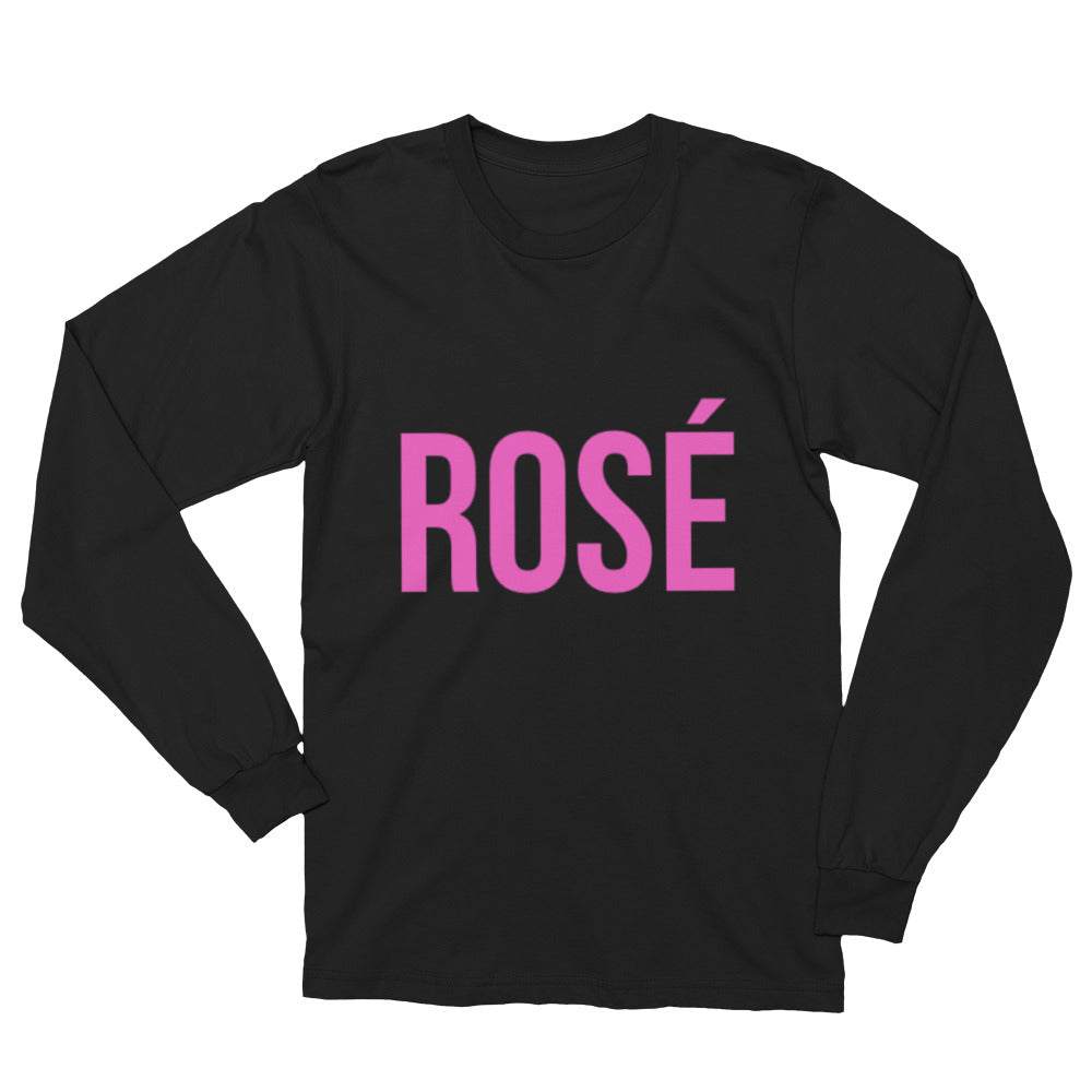 Rosé Long Sleeve T-Shirt - Bubbly & Co.
