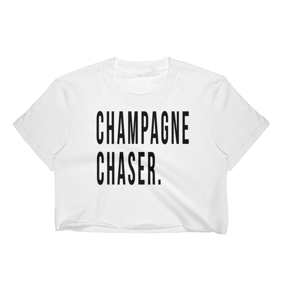 Champagne Chaser Crop T-shirt - Bubbly & Co.