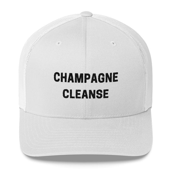 Champagne Cleanse Trucker Cap - Bubbly & Co.