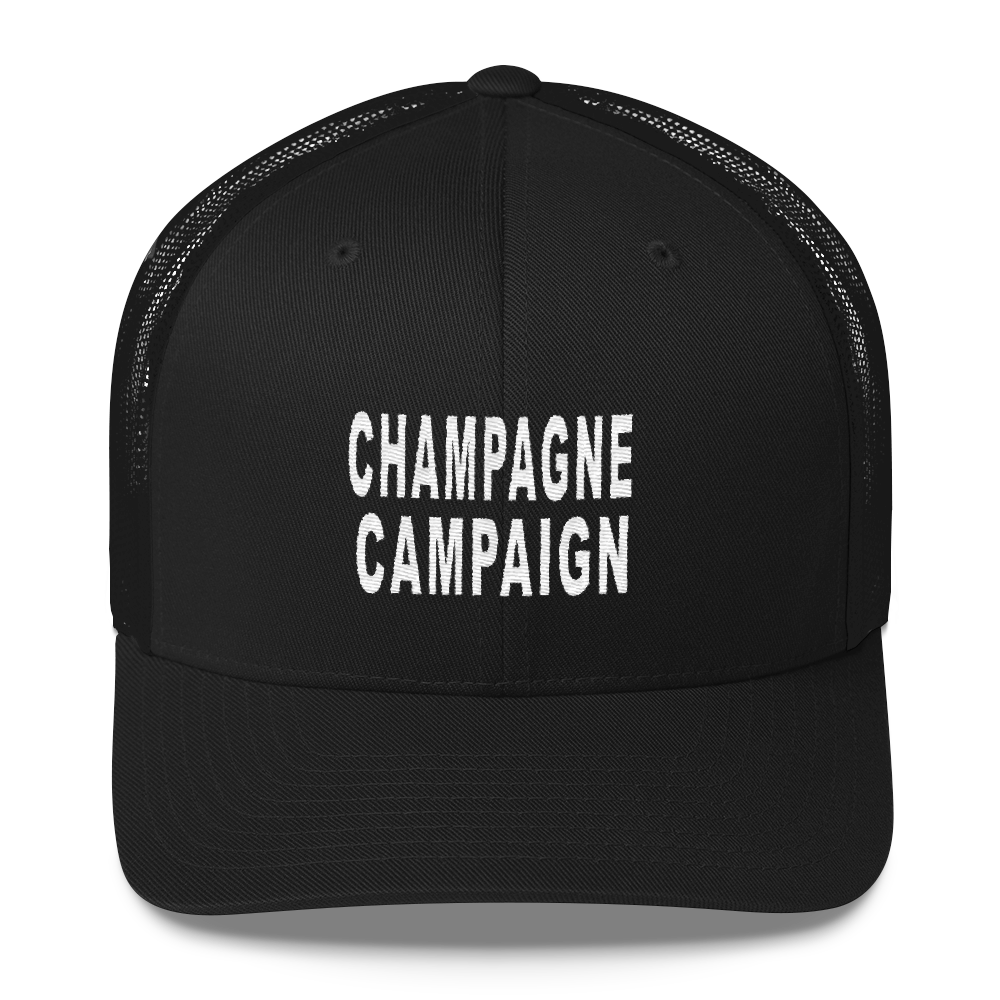 Champagne Campaign Hat - Bubbly & Co.