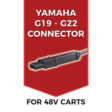 Load image into Gallery viewer, FORM 15 AMP Yamaha G19-G22 Battery Charger for 48 Volt Golf Carts