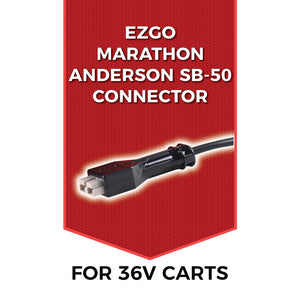 FORM 18 AMP EZGO Marathon Battery Charger for 36 Volt Golf Carts - Anderson SB-50 style plug