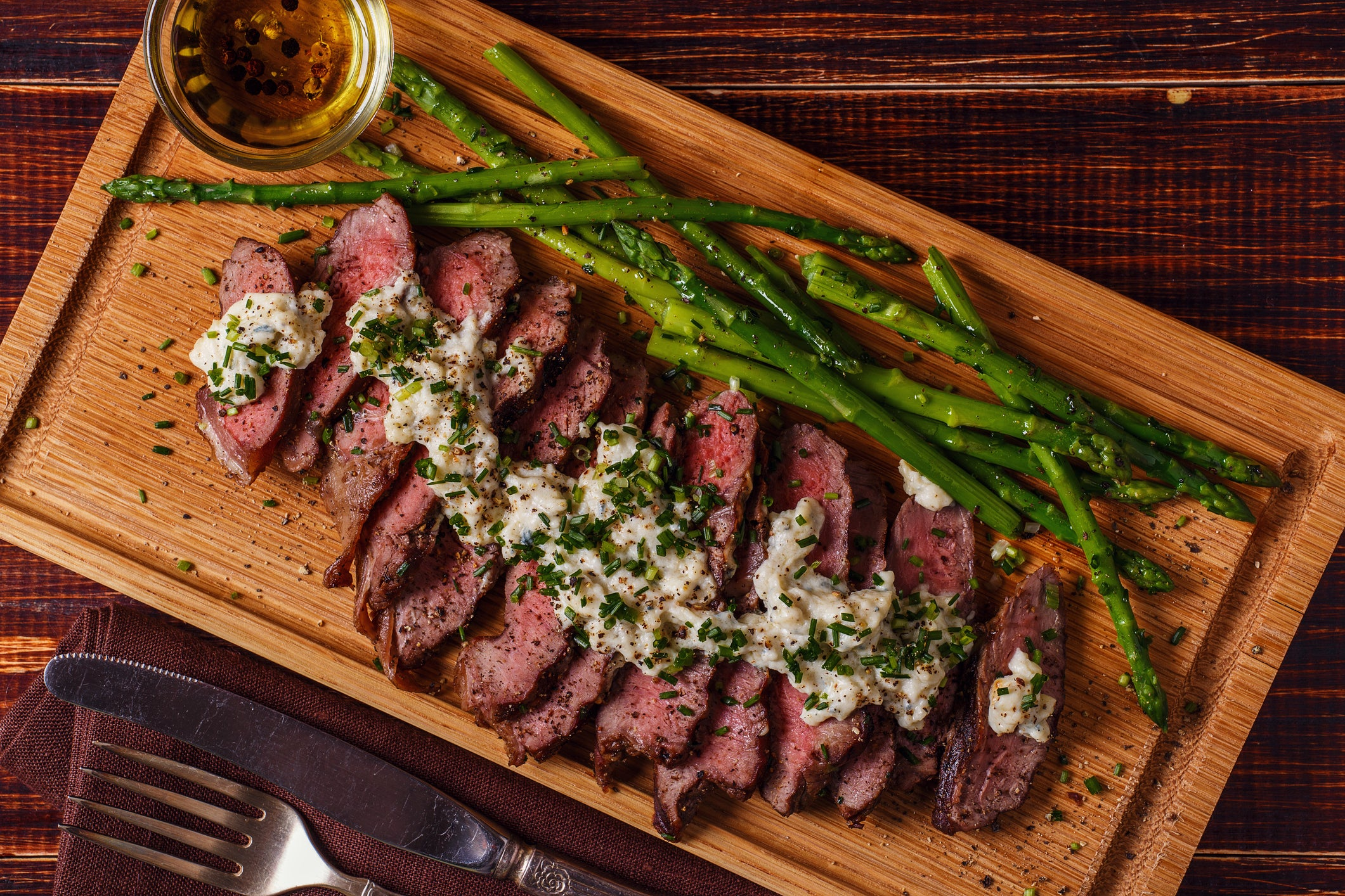 Steak and Blue Cheese