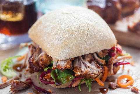 Chipotle-Coffee Pulled Pork