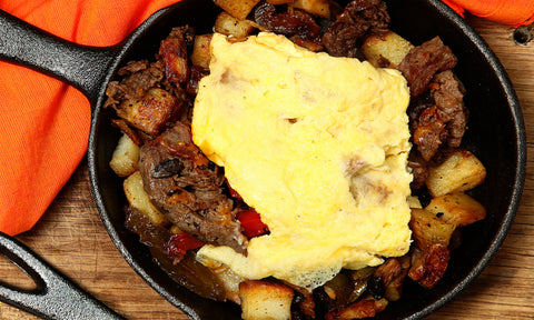 Barista Steak & Egg Skillet