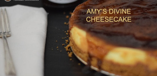 AMY'S DIVINE CHEESECAKE