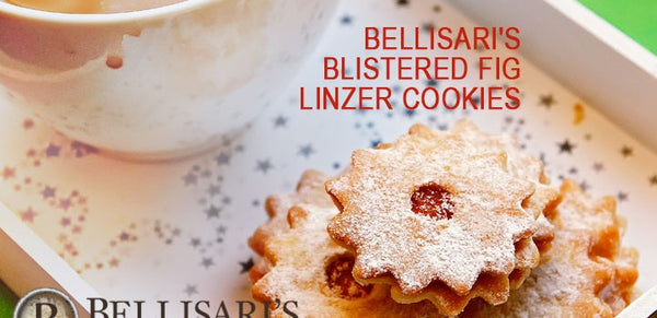 BELLISARI'S BLISTERED FIG LINZER COOKIES