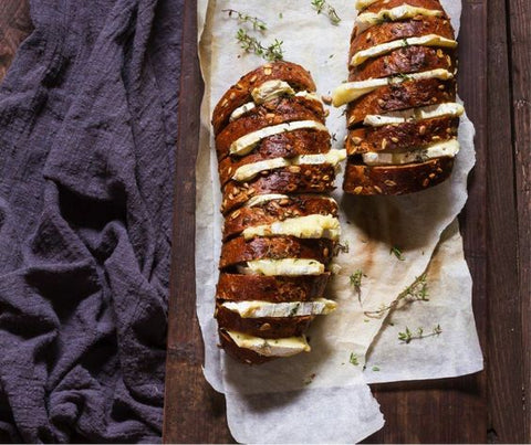 Warm Hasselback Baguettes