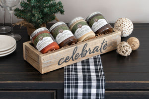 4-Pack Gift Set with Celebrate Box