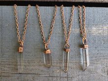 Load image into Gallery viewer, Quartz Point Necklace