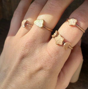 Moon Star Stacking Ring