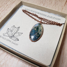 Load image into Gallery viewer, Moss Agate Pendant 4