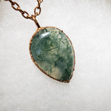 Load image into Gallery viewer, Moss Agate Pendant 2