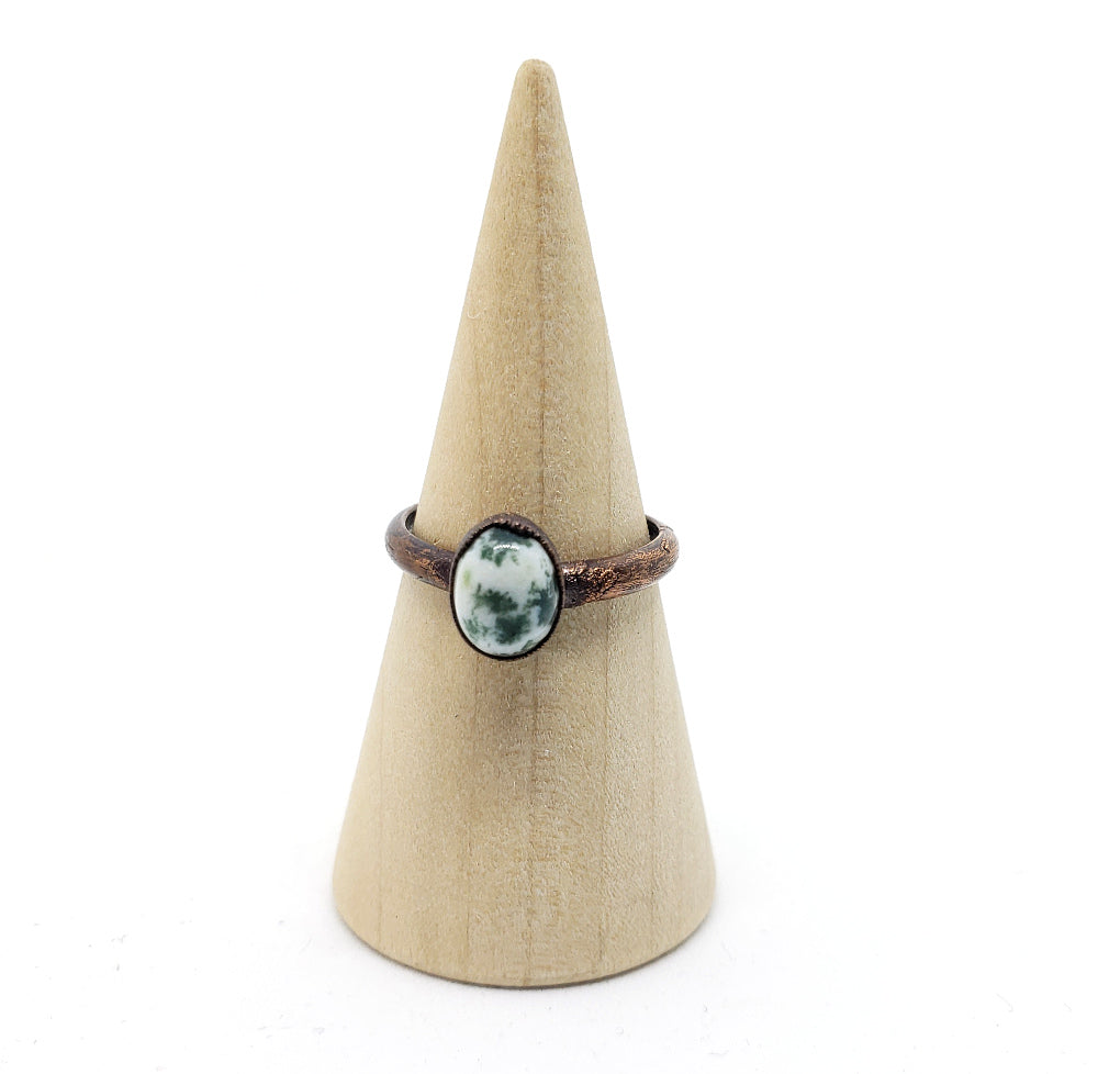 Tree Agate Ring