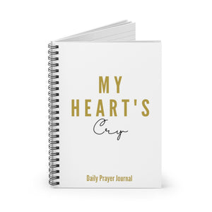 """My Heart's Cry"" Daily Prayer Journal"