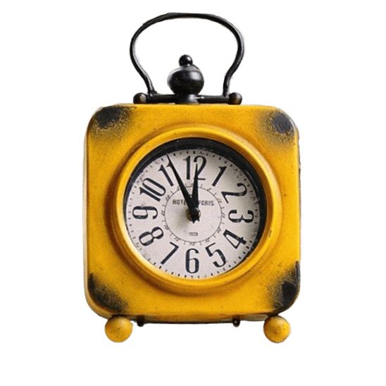 Horloge de table<br>industrielle