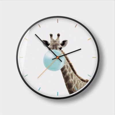 Horloge design pop culture chewing gum girafe