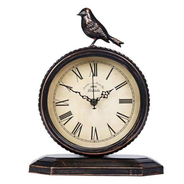 Horloge oiseau traditionnelle cottages