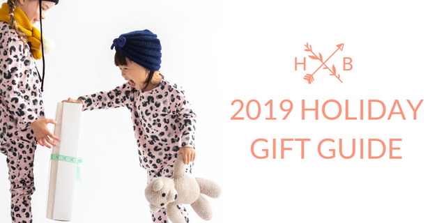 Hunter and Boo Holiday Gift Guide 2019