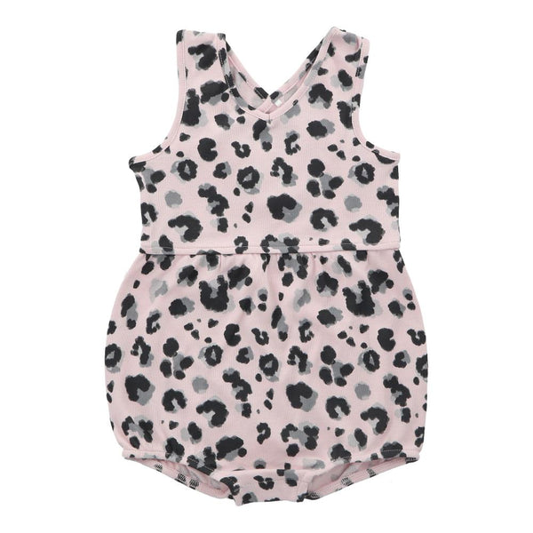 Hunter + Boo Short Romper - Yala Pink