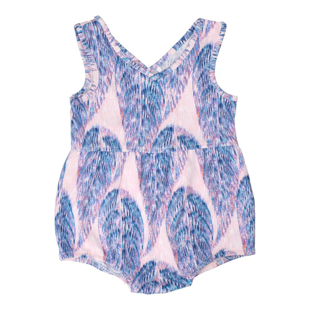 Hunter + Boo Short Romper - Boo Print