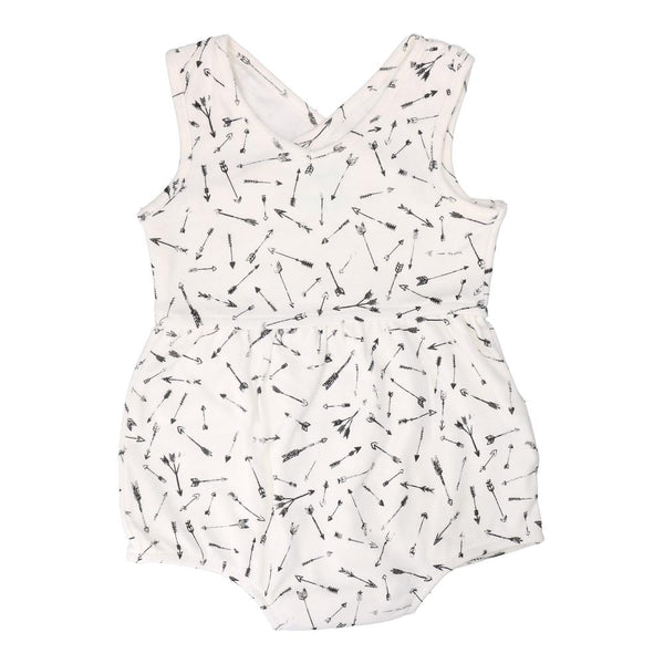 Hunter + Boo Short Romper - Hunter Print