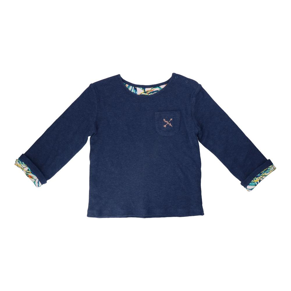 Hunter + Boo Reversible Sweater - Palawan/Navy
